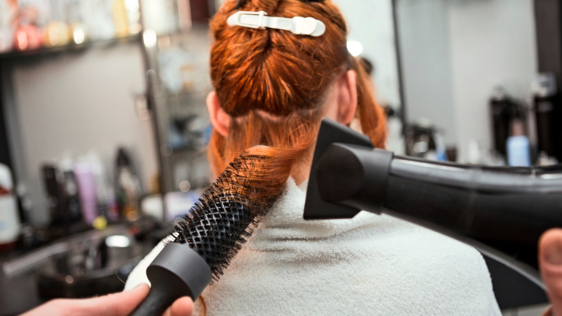 Curly Hair Blowouts